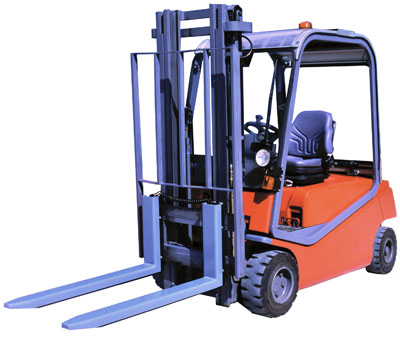 Thor forklift truck scale